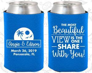 Wedding Favor Koozies Cheap Beer Can Koozie Ideas (375