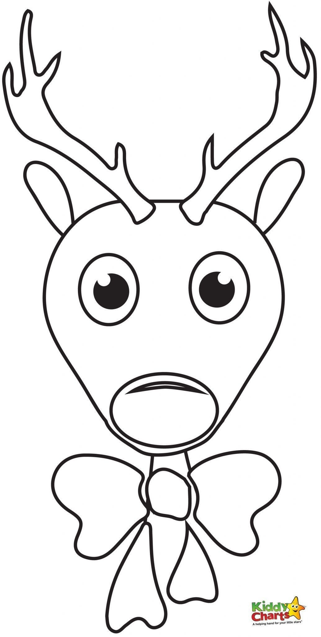 Cute Rudolph Coloring Pages at GetColorings.com | Free ...