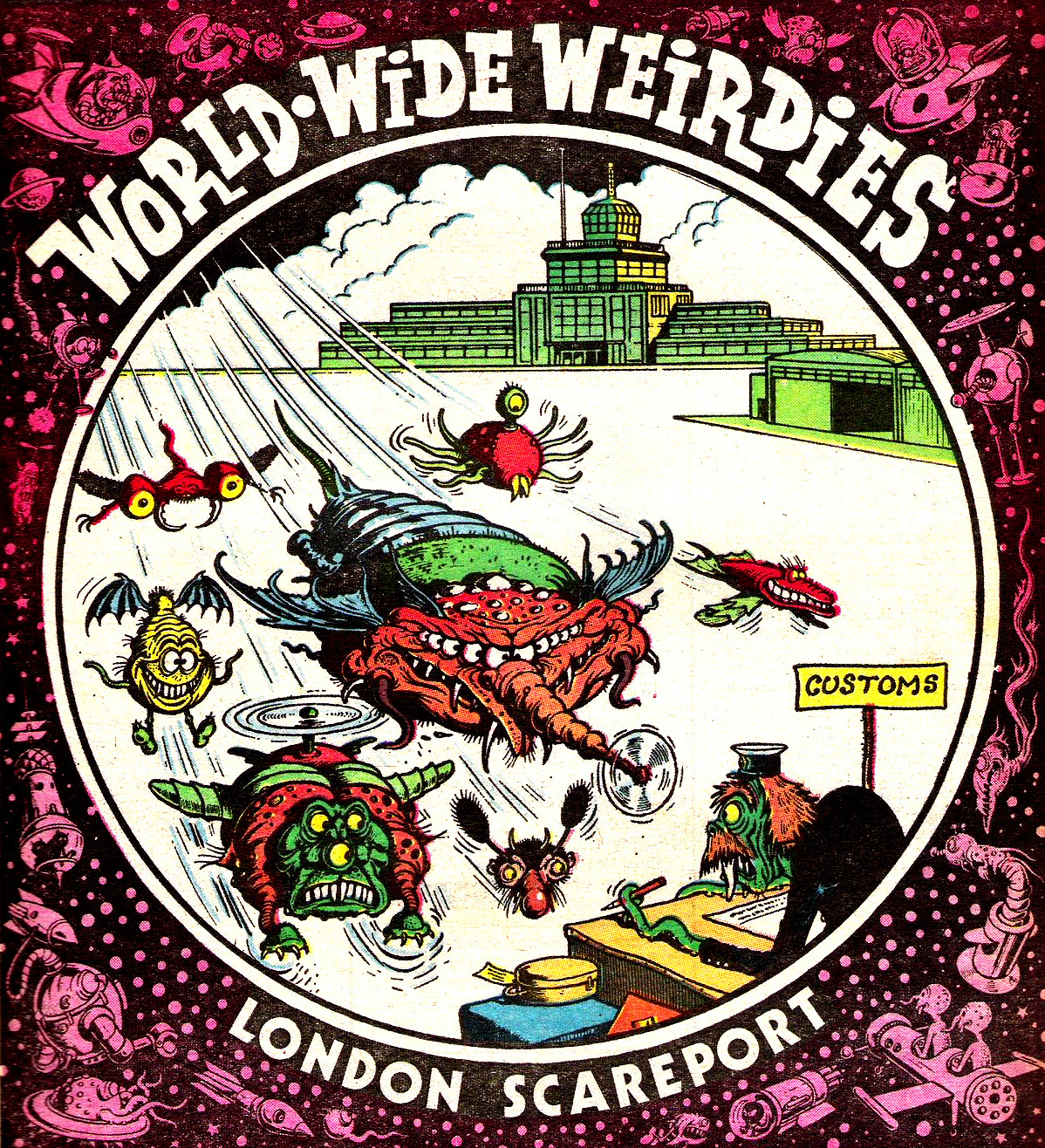 Ken Reid - World Wide Weirdies 14