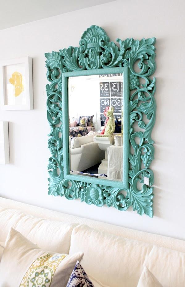 mirror, espelho, home decor, ideias decoração, sala
