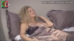 Gabriela Relvas sensual na novela Belmonte