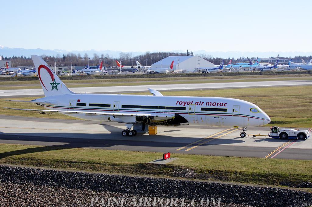 RAM's first Boeing 787 Dreamliner Morocco