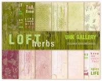 LOFT herbs- zestaw papierów