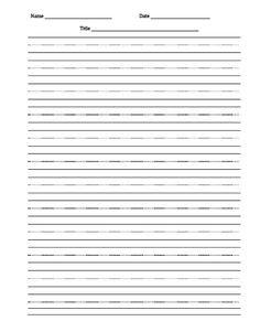 Freebie Handwriting Chart - sky, grass and dirt | First Grade ...