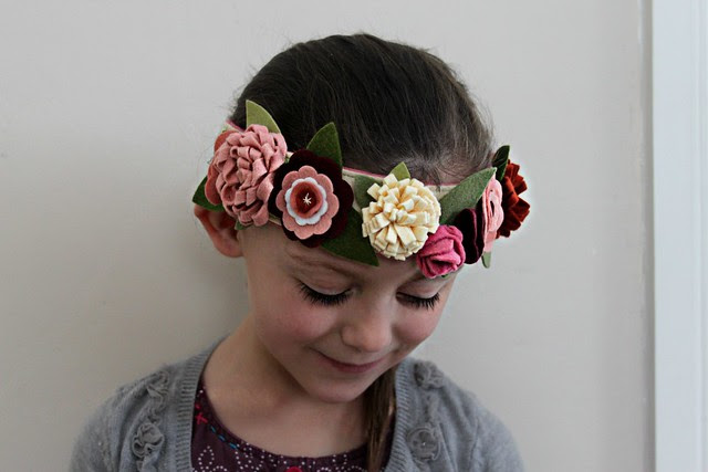 Valentine's Flower Crowns