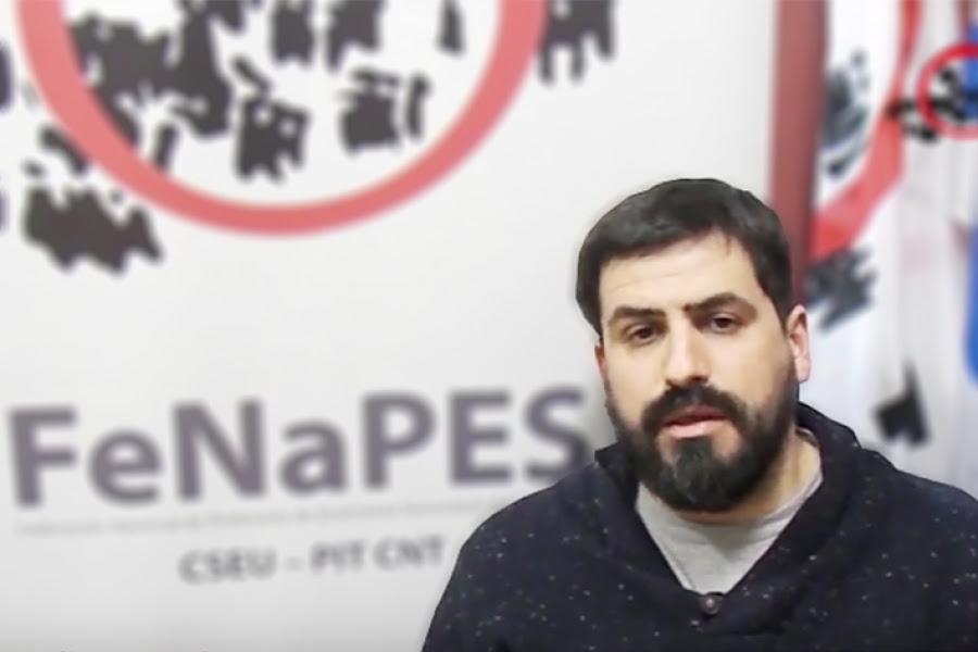 FeNaPES recorre el país en defensa de la educación pública