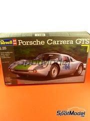 Maqueta de coche 1/24 Revell - Porsche 904 Carrera GTS  Nº 27, 86 - Targa Florio, 24 Horas de Le Mans 1964 - maqueta de plástico image
