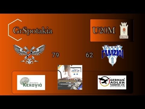 Στιγμιότυπα από το παιχνίδι νέων ΒΑΟ-Γαλάζιοι 79-62