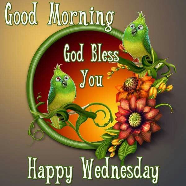 Good Morning God Bless You Happy Wednesday Pictures Photos And
