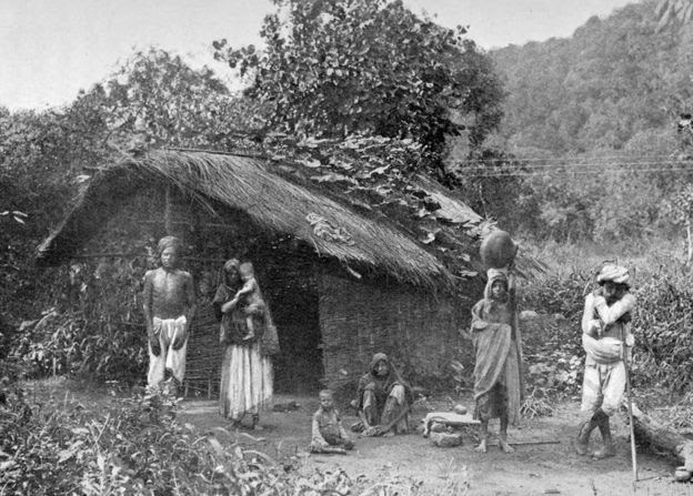 Hambruna en India