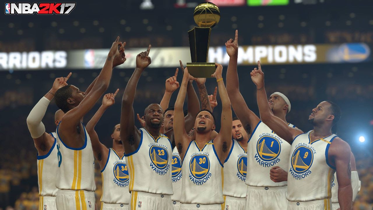 NBA 2K17 predicts Warriors beat the Cavs with Game 7 blowout screenshot