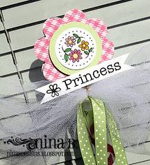 Princess wand top