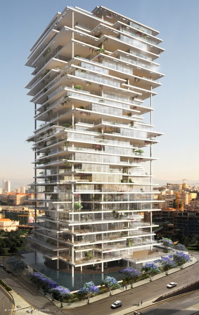 Skyscrapernews.com Image Library - 2631 - Beirut Tower Promises ...