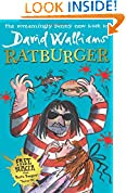 Ratburger by David Walliams book cover
