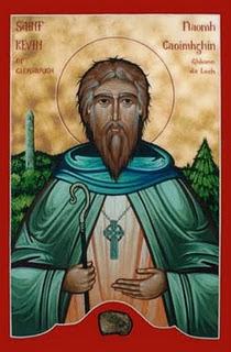 Ο άγιος Κέβιν της Ιρλανδίας