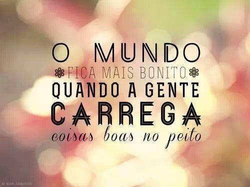 Bom dia! O que você carrega no peito?  Carregue sonhos e realizações. Superações e felicidades!  http://www.hotcourses.com.br/