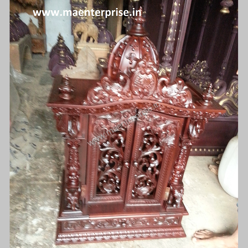 Small Temple With Doors Design For Home