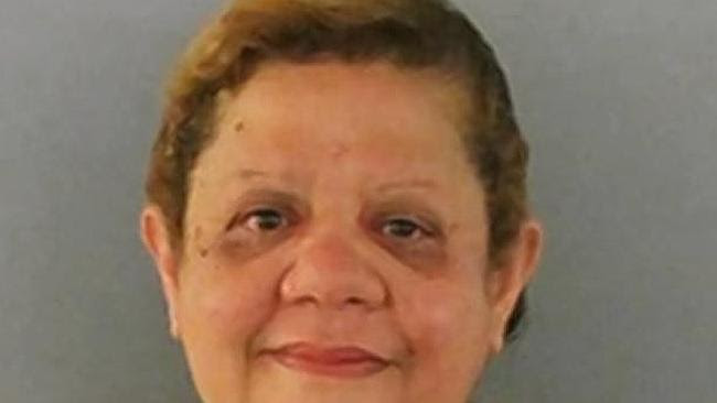 Allegedly wanted sex from a police officer ... Maria Montenez-Colon, 58, was charged afte