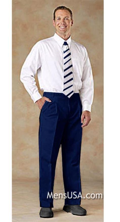 mens pleated pants slacks  white shirt matching