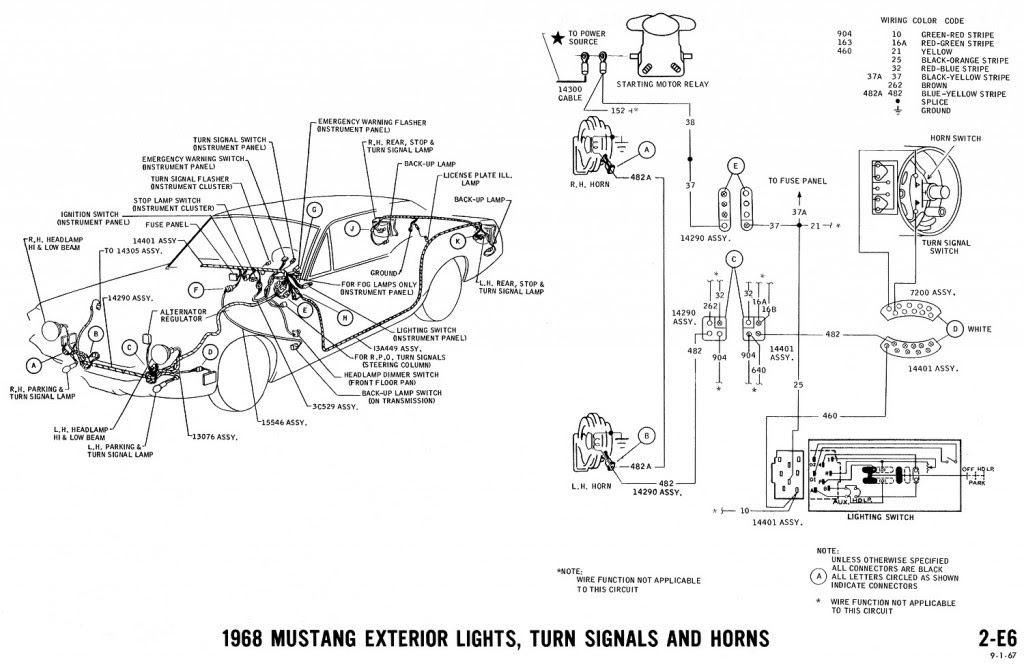 1968 Mustang Headlight Wiring Diagram Wiring Diagram Local A Local A Maceratadoc It