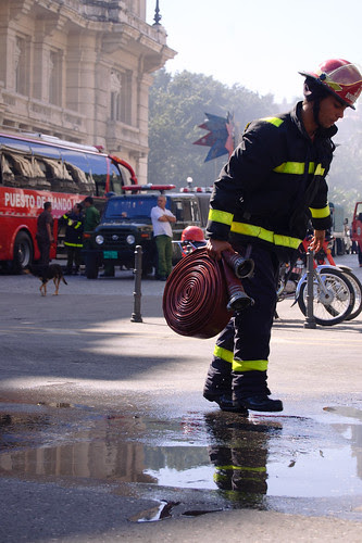 Fuego extinguido