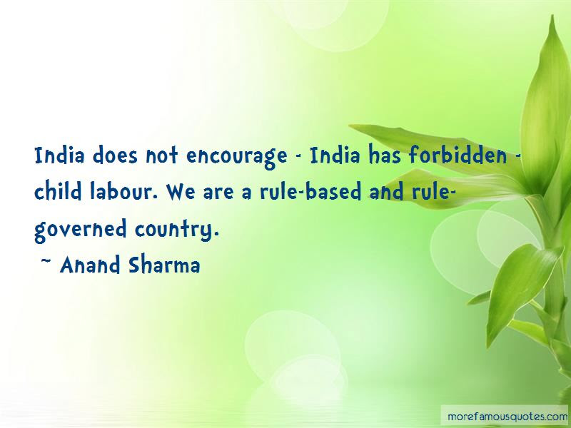 Anand Sharma Quotes Top 3 Famous Quotes By Anand Sharma