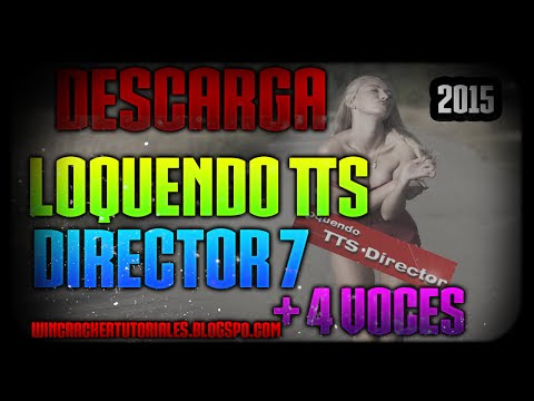 Descarga e Instala Loquendo TTS Director 7 + 4 Voces 2015