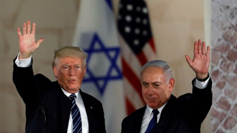 US President Donald Trump paid his first official visit to Jerusalem in May, 2017 [Reuters]