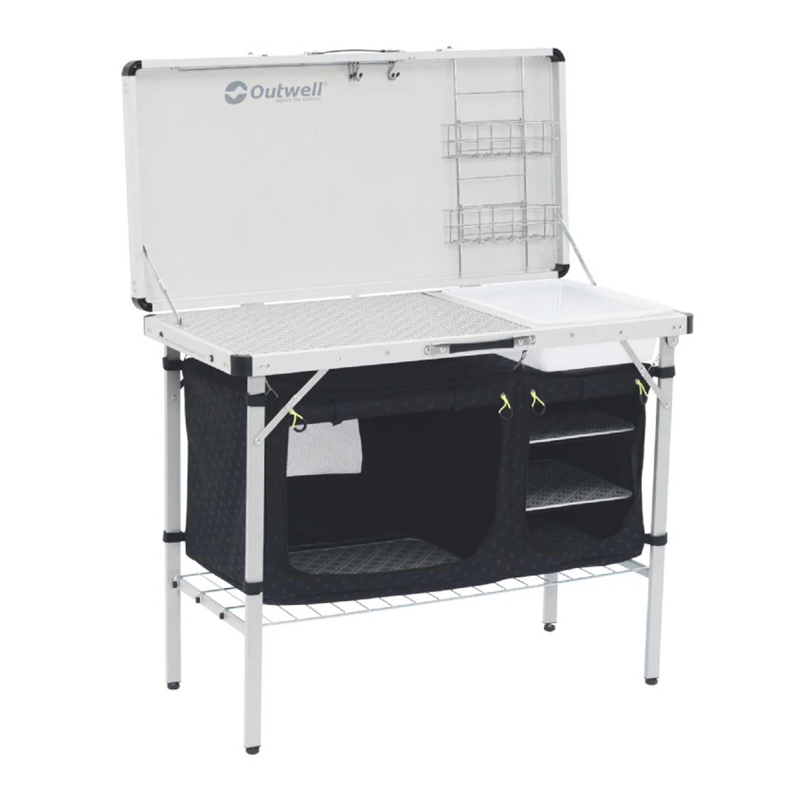campingküche outwell drayton camping outdoor schrank