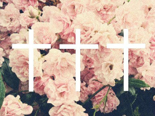 floral, flowers, grunge, pink, soft