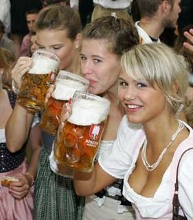 Girls beer fest