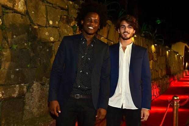 Maicon Rodrigues e Breno Leoni (Foto: RobertoTeixeira / EGO)