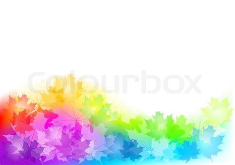 full color background  autumn stock vector colourbox