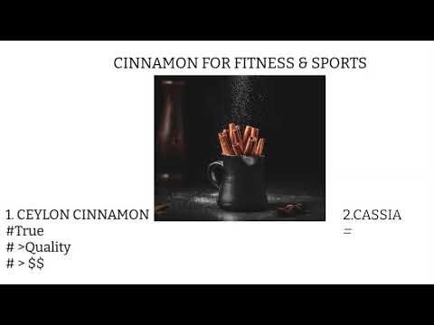 BENEFITS OF CINNAMON FOR FITNESS & SPORTS (CEYLON CINNAMON)