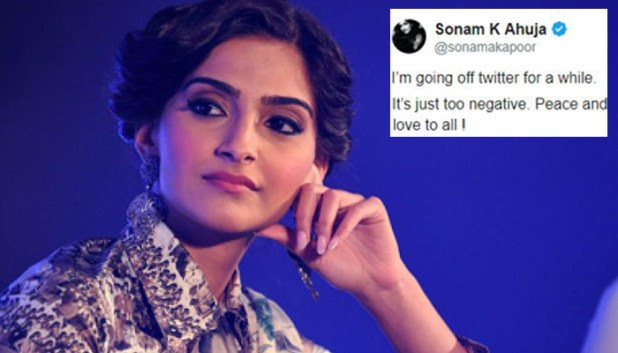 Sonam Kapoor Ahuja takes a break from Twitter and also gives reason for it
