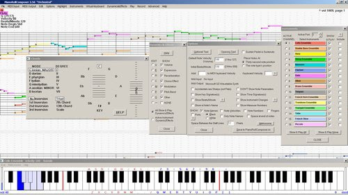 PianoRoll Composer