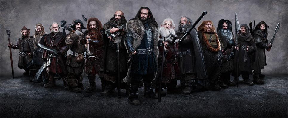Image result for hobbit dwarves