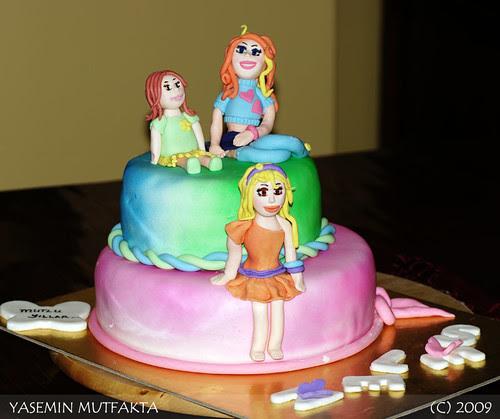 Selen'in Winx Pastasi / Winx Cake