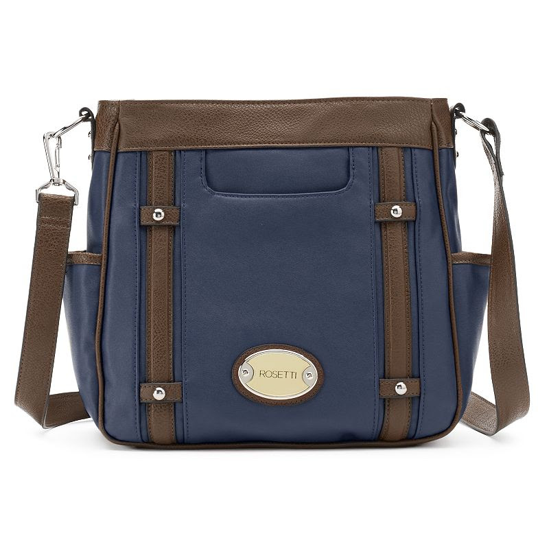 Rosetti Take A Dip Convertible Crossbody Bag, Women's, Blue (Navy)