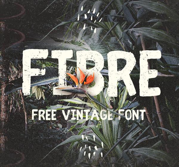 Fibra (época) gratuito Brush Fuente