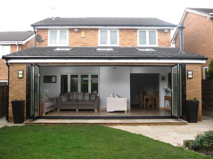 Single Storey Rearside Extension Drawing Services
