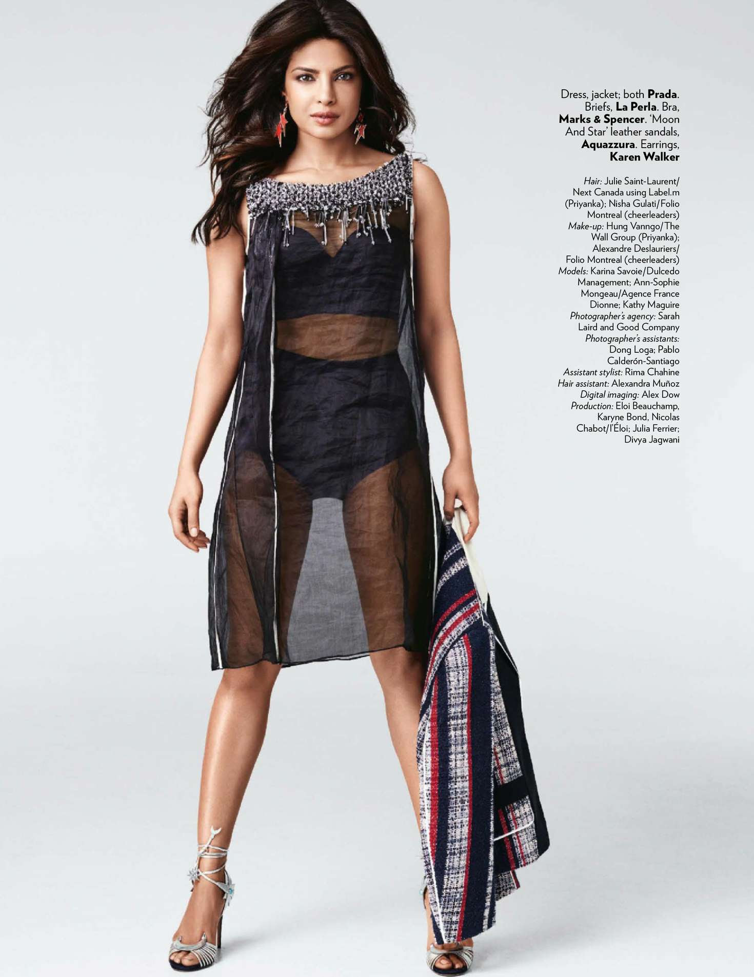 Priyanka Chopra – Vogue India Magazine (April 2016)