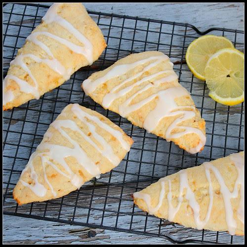 Lemon Ginger Scones
