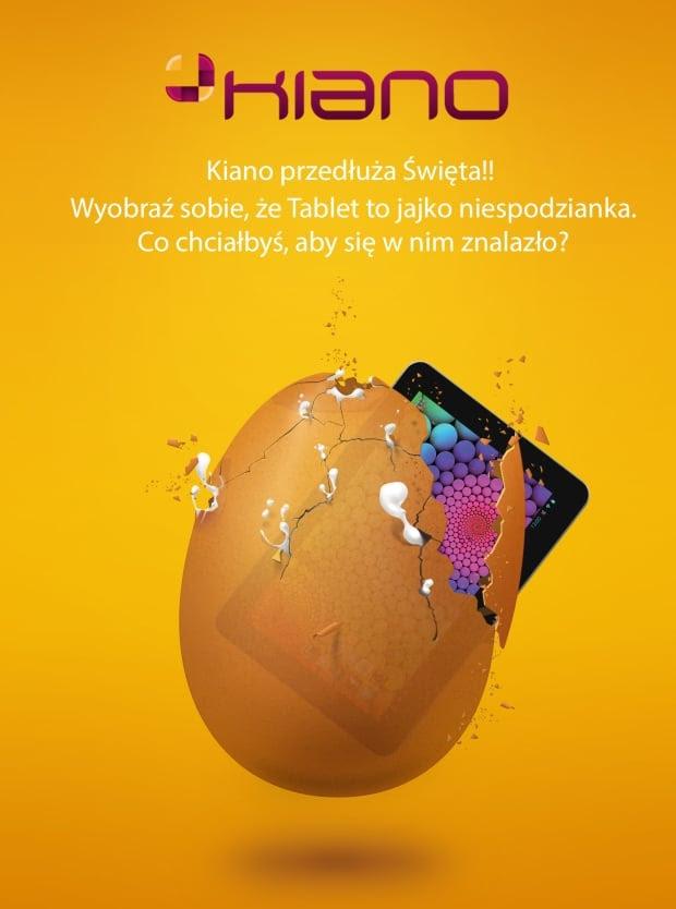 Konkurs! Kiano przedłuża Święta! Wygraj Kiano Core 10.1 3G