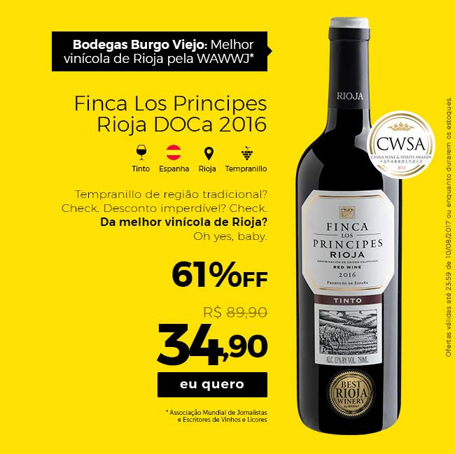 Finca Los Principes Rioja DOCa 2016