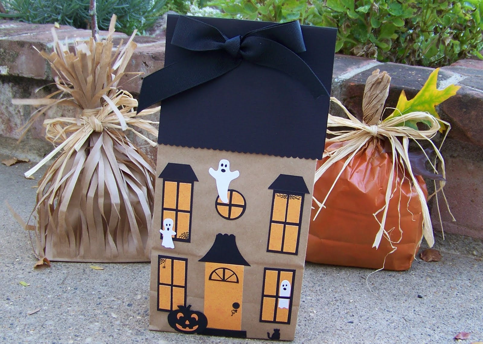 Paper Lunch Sack Craft Ideas For Fall Dollar Store Crafts