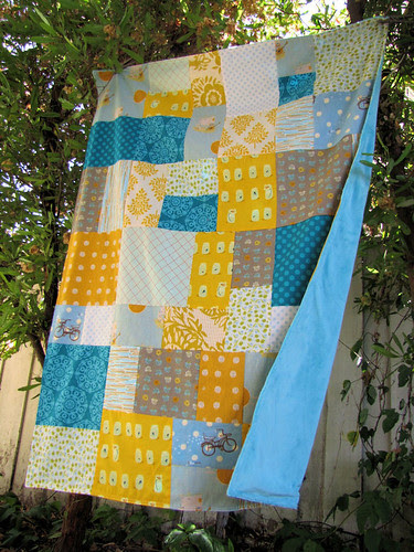 rebecca's patchwork and minky