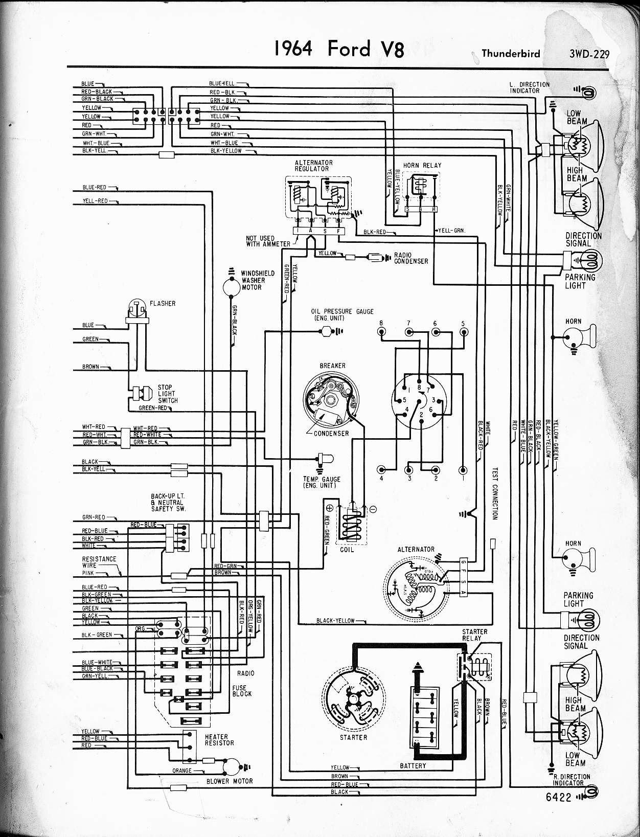 Af569 1988 Ford F 150 Voltage Regulator Wiring Diagram Wiring Library