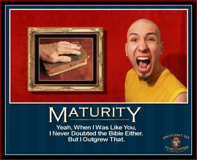 Maturity?