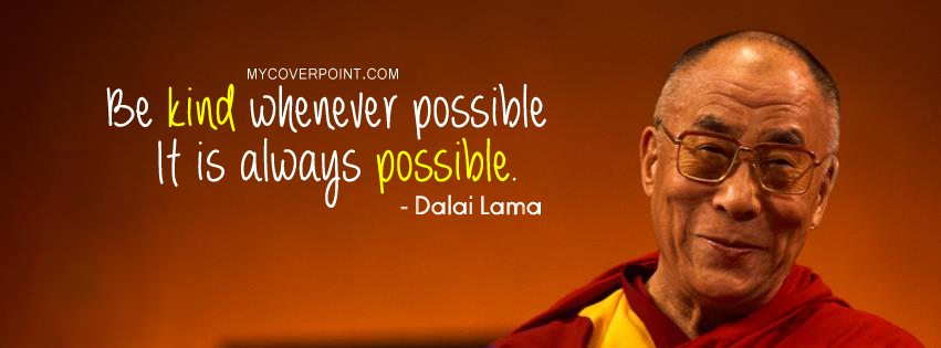 Dalai Lama Inspirational Quotes on Kindness. QuotesGram